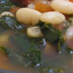 Turkey, White Bean and Kale Soup