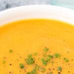 Rustic Butternut Squash Soup